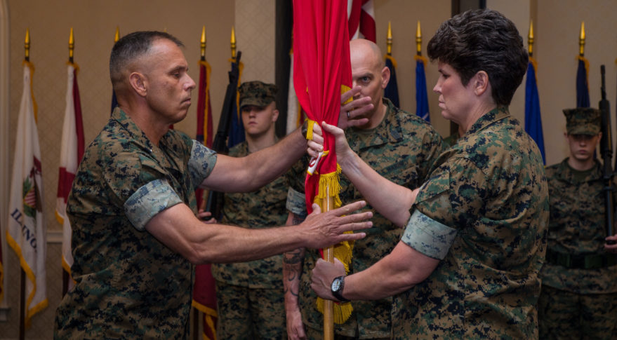 Marine Corps stands up space unit at Offutt Air Force Base