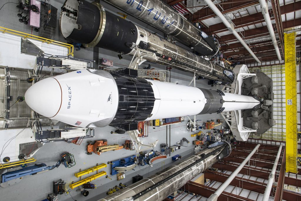 SpaceX drone ship departs for upgraded Cargo Dragon launch debut