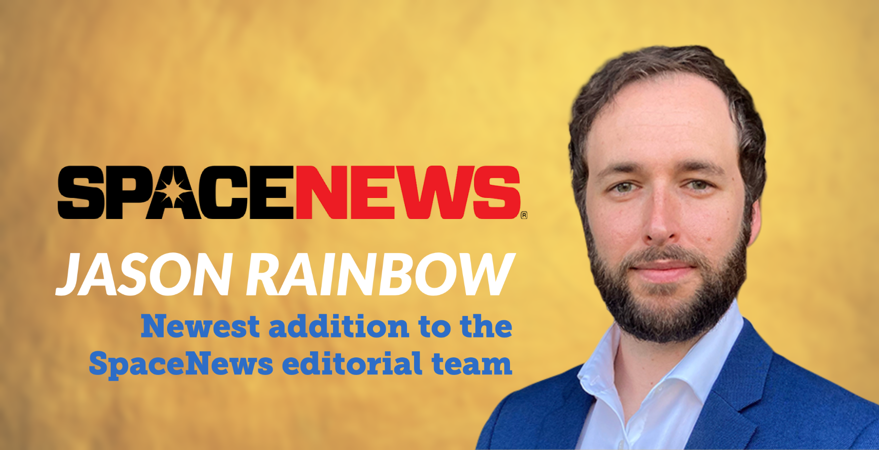Veteran journalist Jason Rainbow joins SpaceNews