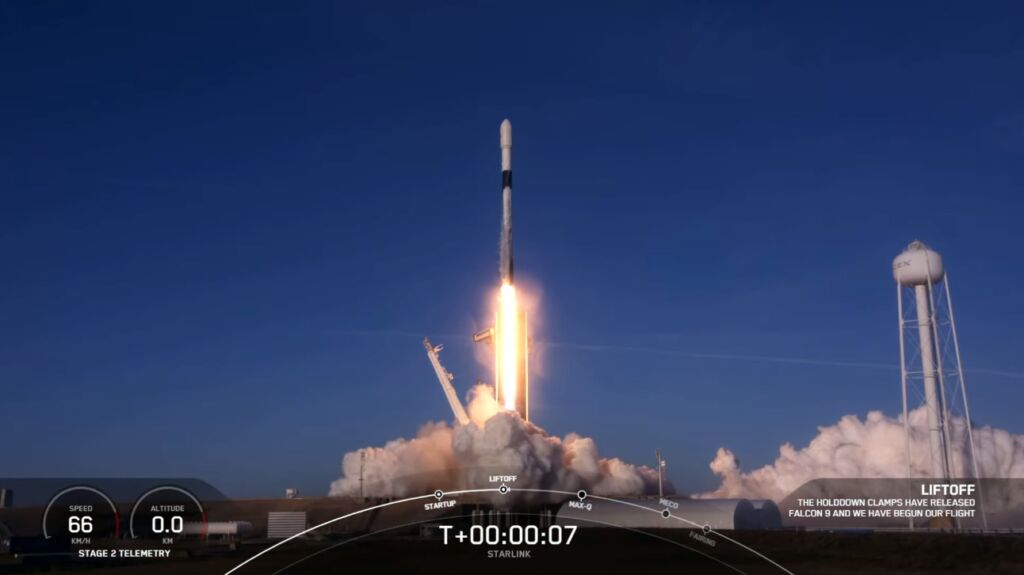 SpaceX launches first Starlink mission of 2021