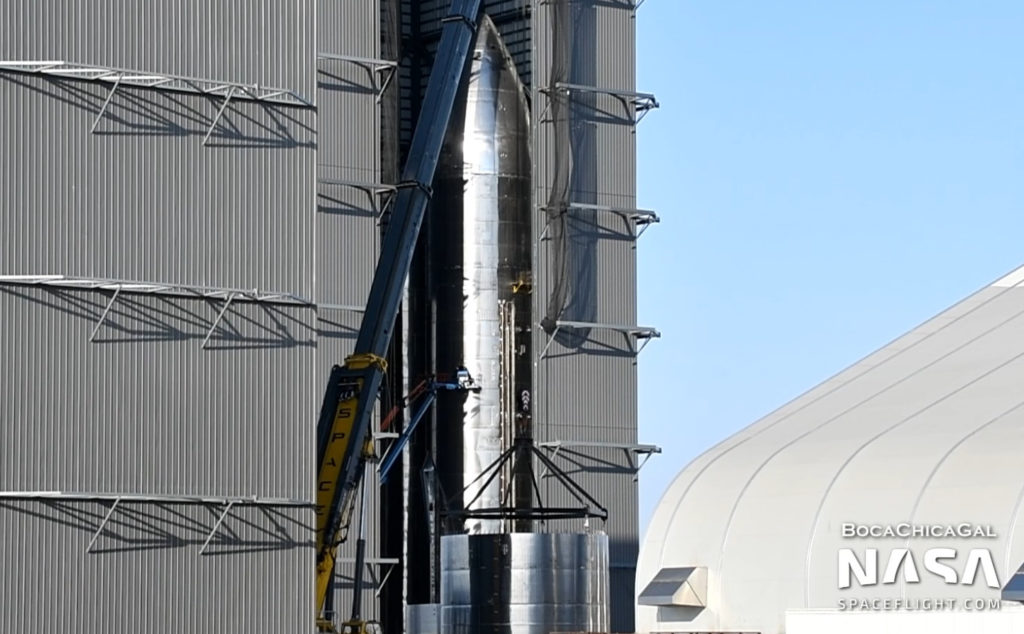 Starship SN11 prepares for rollout as SpaceX plans for the future