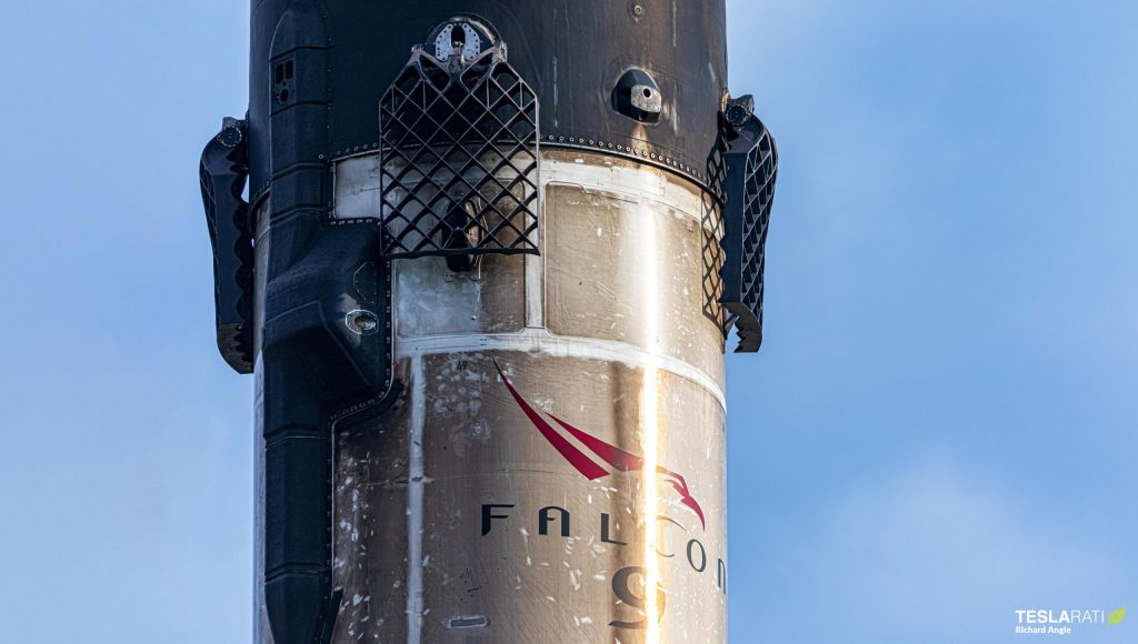 "SpaceX Falcon 9 ""fleet leader"" returns to port after record reuse"
