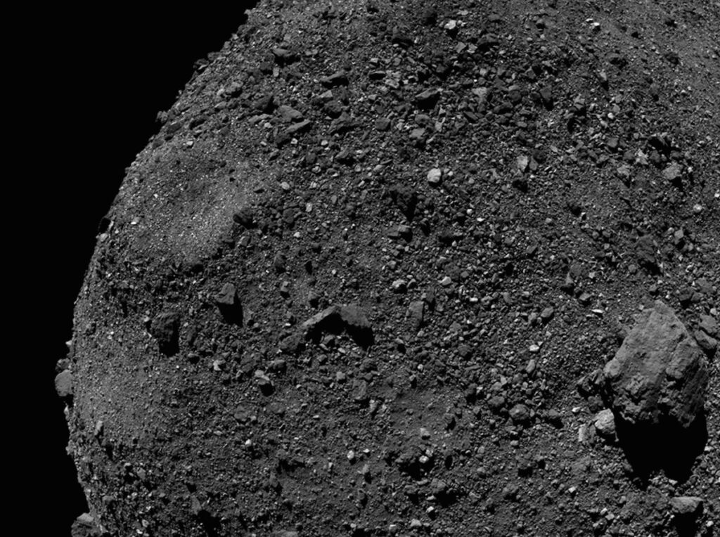 Scientists release new view from OSIRIS-REx's asteroid smash and grab
