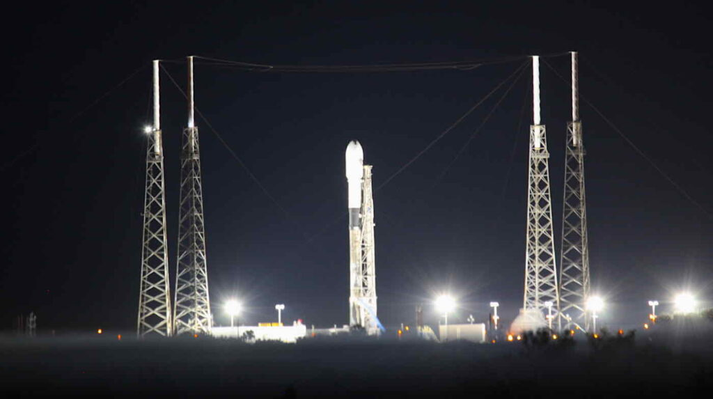 SpaceX going for its 10th satellite launch of the year Wednesday