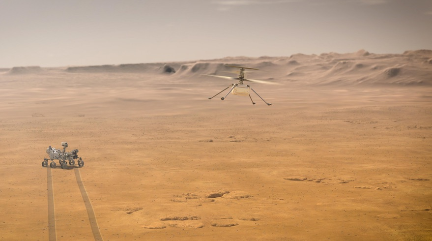 Helicopter and other technology demos hitch a ride on Mars 2020