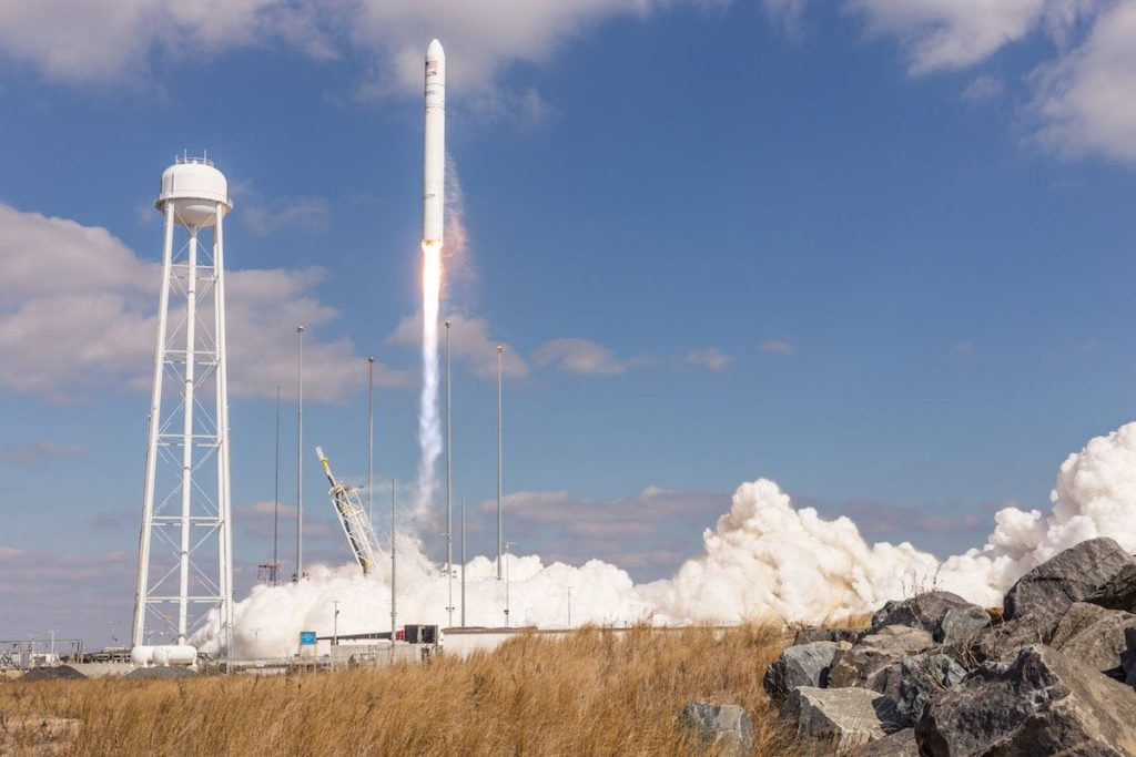 Photos: Antares rocket blasts off from Eastern Shore of Virginia