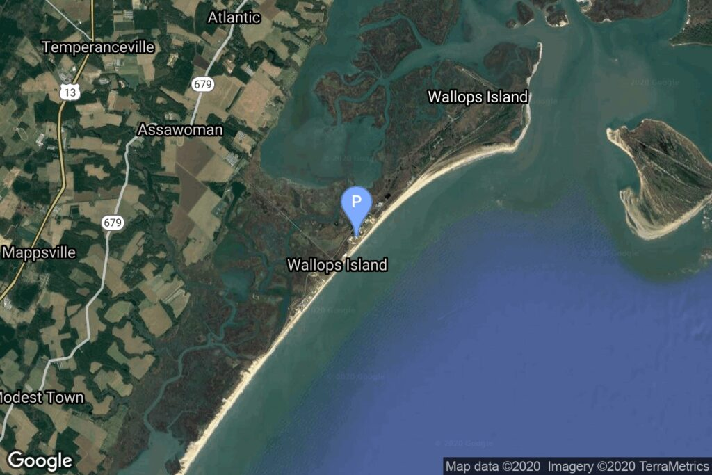 Launch Area 3A, Wallops Island, Virginia, USA