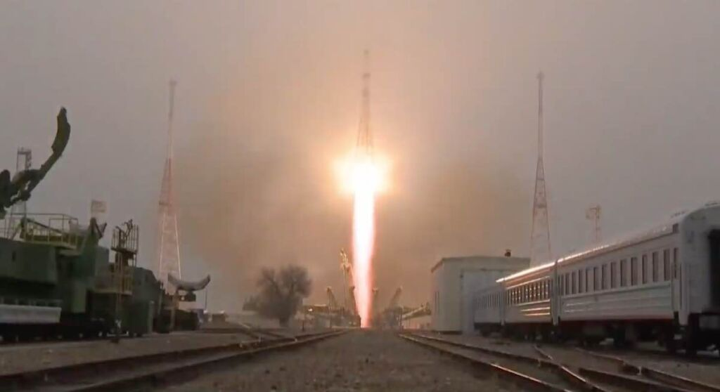 Russia launches cargo ship heading for International Space Station