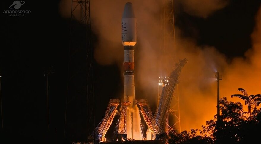 Soyuz launches Falcon Eye 2 satellite for UAE