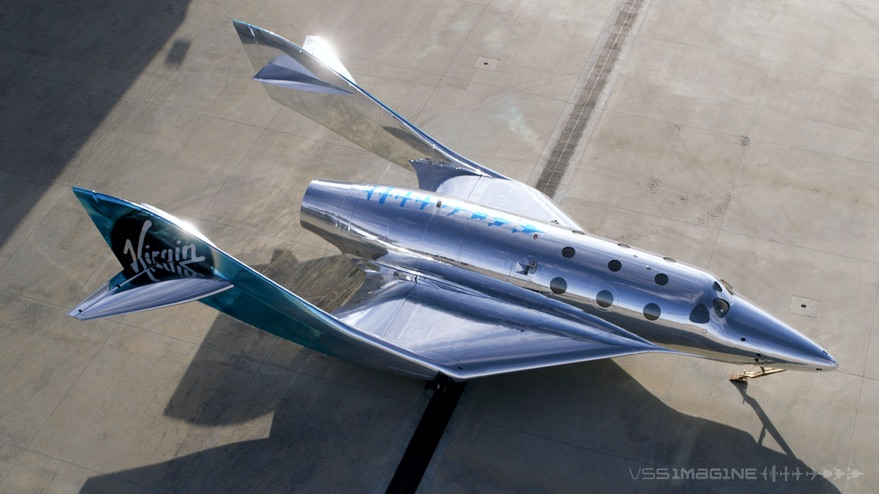 Virgin Galactic unveils new suborbital spaceplane